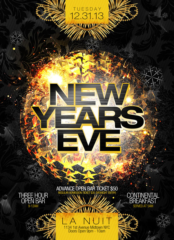 La Nuit NYC New Years Eve Party