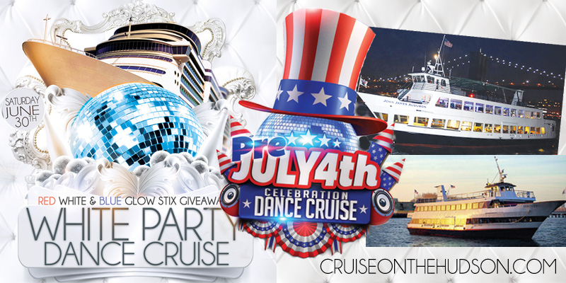 NYC White Party Dance Cruise NYC Boat Party Hornblower JJ Audubon Yacht boat Pier 15 NYC South Street Seaport
