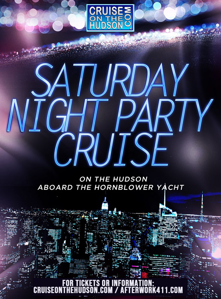 Saturday Night Dance Cruise NYC on the Hudson