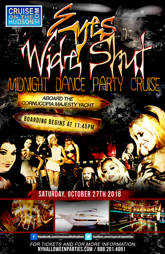 Eyes Wide Shut Halloween Dance Cruise NYC Cornucopia Majesty Yacht